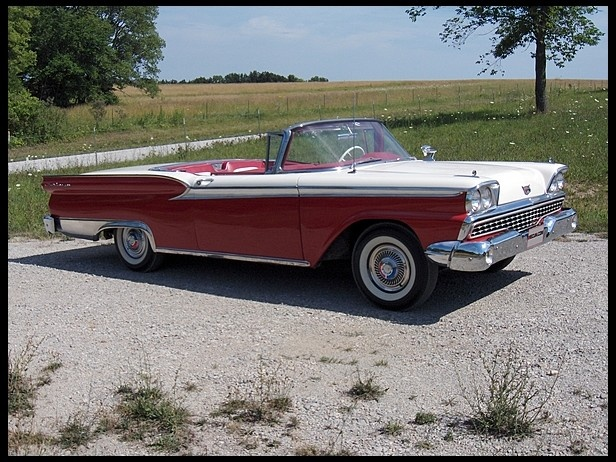images about antique cars on Pinterest   Auction  Ford          Ford Fairlane     Skyliner     CI  Automatic Another Mecum Sold Sold Price