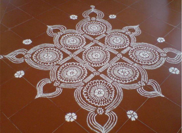 Kolam Designs for Pongal