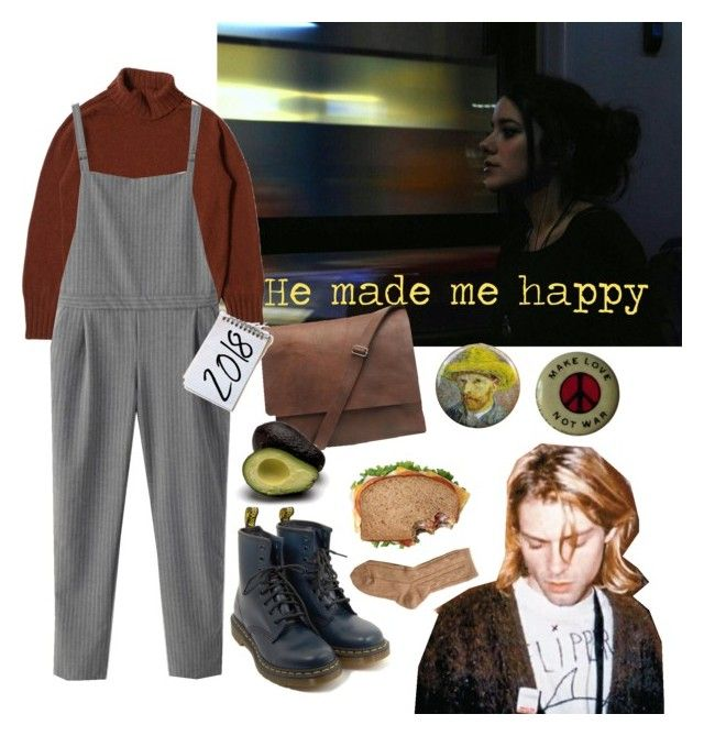"""Untitled #26"" by alexmazarakh on Polyvore featuring WithChic, Dr. Martens and Bamford"