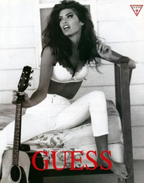 #Retro #Vintage 80's 90's ad #guess #fashion