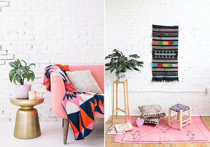 les 25 meilleures id es de la cat gorie murs en briques peints sur pinterest chemin e en. Black Bedroom Furniture Sets. Home Design Ideas