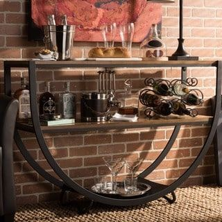 Vintage Industrial Console Table by Baxton Studio | Overstock.com Shopping - The Best Deals on Coffee, Sofa & End Tables #VintageIndustrial