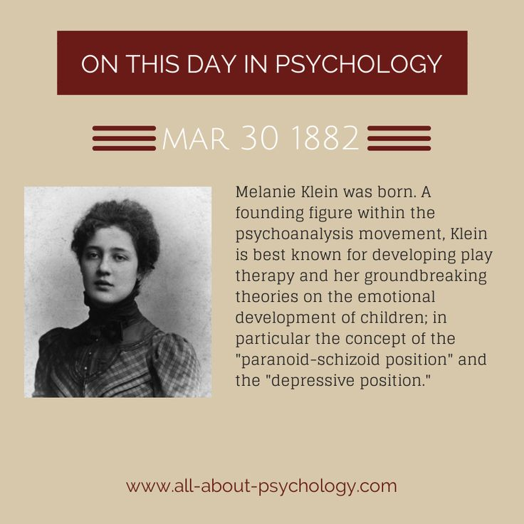 the life of melanie klein and the inception of the personality theories (1)cambridge wellcome unit for the history of medicine, england  a dispute  over the infantile super-ego between the theorists melanie klein and anna freud  beginning in 1927  biography historical article  humans infant male  personality development psychoanalysis/history psychoanalytic theory  superego.