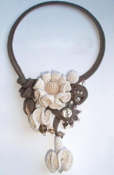 Original crochet jewelry ♡ by Tatiana Potemkina   Beads Magic