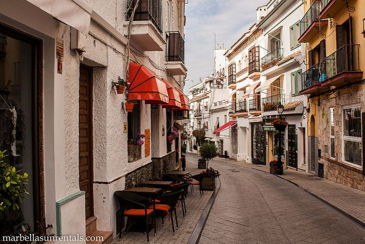 Calle Peral in Marbella Old Town
