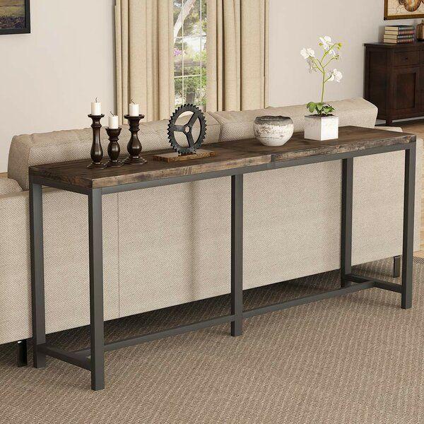 Boylon 70 9 Konsolentisch Aus Massivholz Aus Boylon Konsolentisch Massivholz Sof In 2020 Console Table Behind Sofa Narrow Console Table Extra Long Console Table