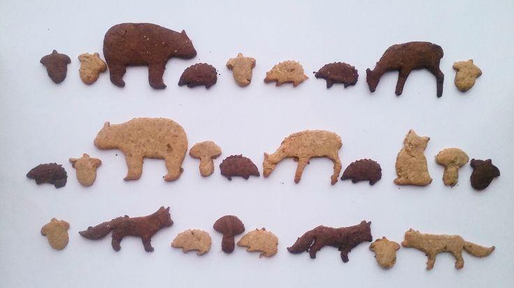 Waldtiere zu Besuch: Rezept für gesunde Kekse