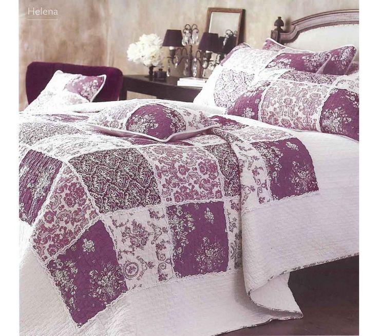Helena patchwork quilt