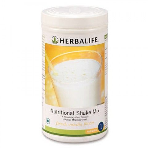 Herbalife Nutritional Shake Mix (Formula-1) ========================  Delicious and nutritious Herbalife meal replacement shakes with all the goodness of a well balanced meal and a lot of soy protein. The nutritional shake offers you all the nutrition of a meal with the minimum amount of calories. Eating healthy does not mean depriving yourself! The Herbalife Formula 1 Nutritional Shake Mix comes in three mouth-watering flavours.