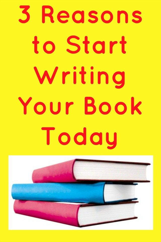 how to start writing your book
