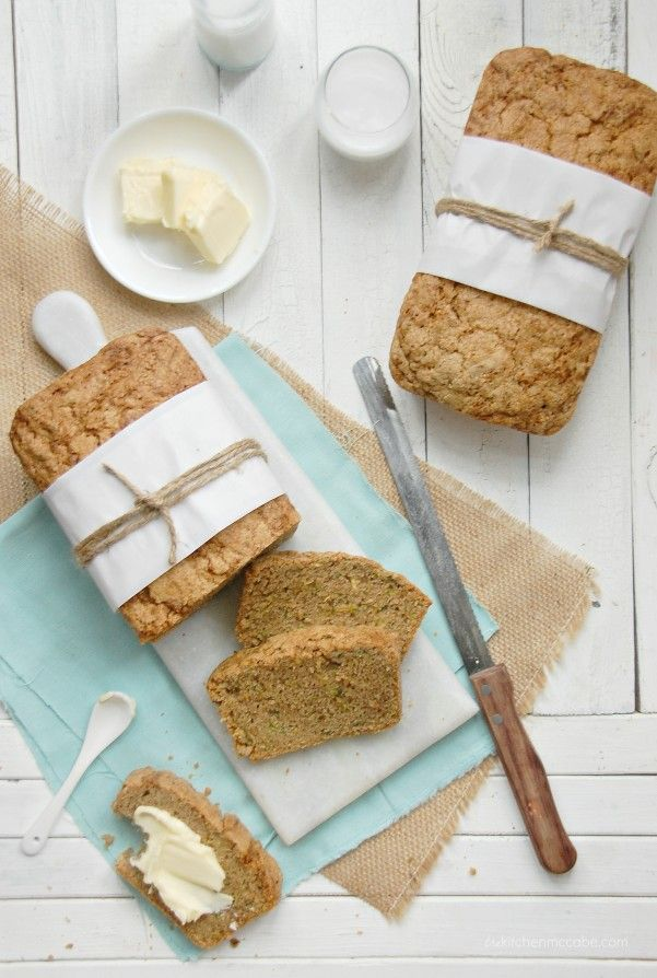 the best zucchini bread -- just switch out the flour to make it gf.