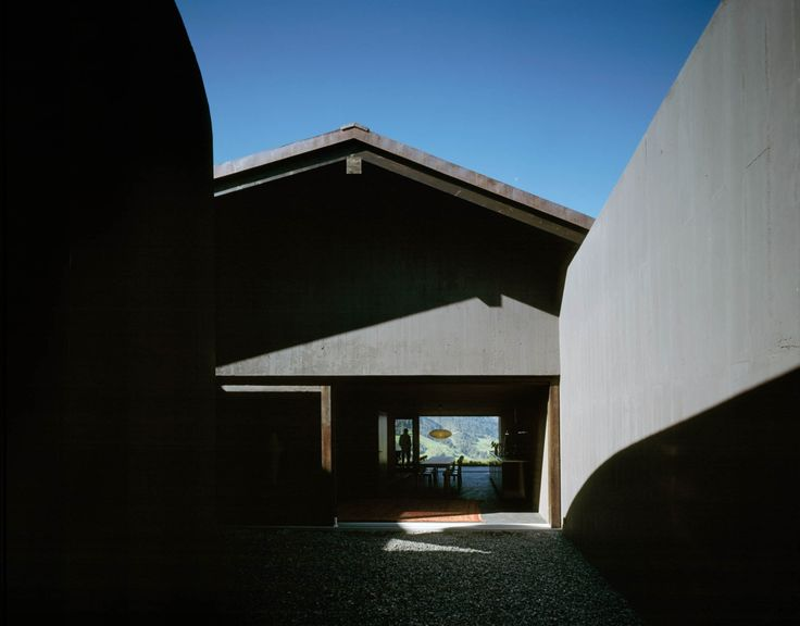Morger & Dettli - Trancauna house, Lumbrein 2009