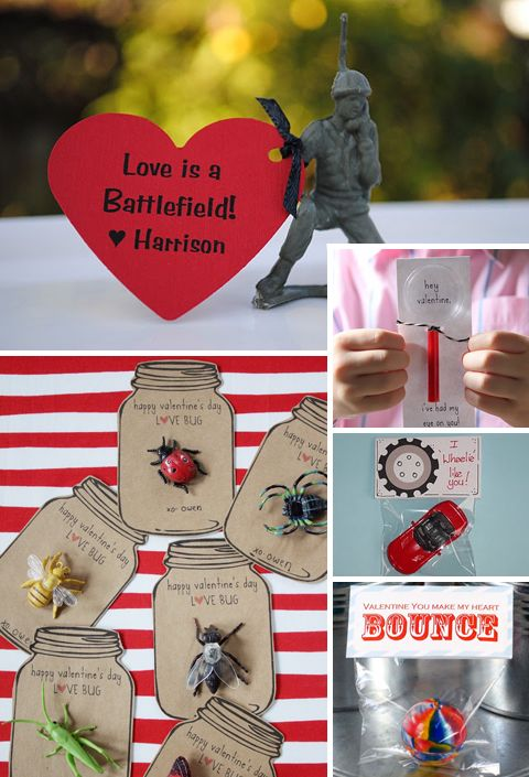 50 Ideas for DIY Valentines. I'm glad we don't have to worry about making Valetine's Day cards for 30 classmates anymore. If we did, though, I'd definitely look here for ideas. And then I'd pick a design I liked. And buy all the supplies to make them. And then wait until the last minute to do them, run out of time, and go out and purchase a set at the store.