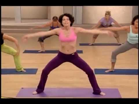 Super SlimDown: Pilates Yoga Blend...my very favorite workout. Used to watch on Netflix but they don't have it on there anymore
