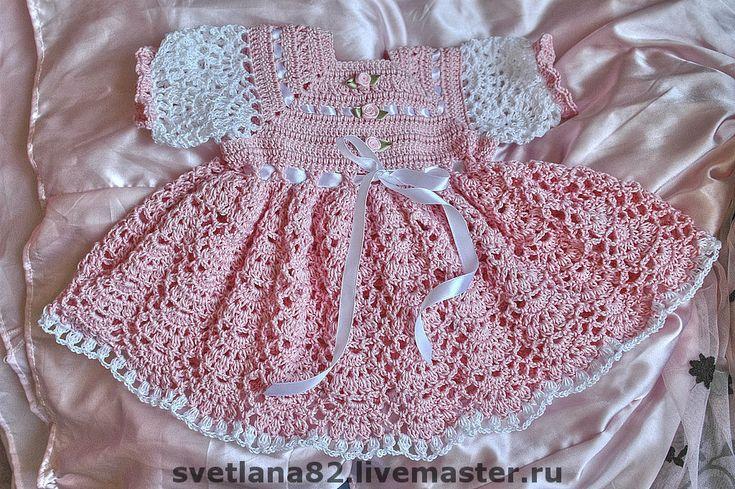 Купить Нарядное платье для девочки - подарок на новый год, подарок на день рождения, подарок малышке