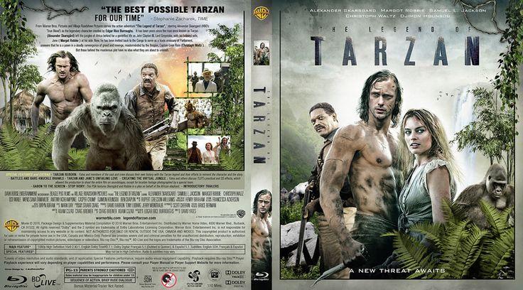 The Legend of Tarzan Blu-ray Custom Cover