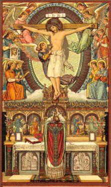 La Misa según los santos.