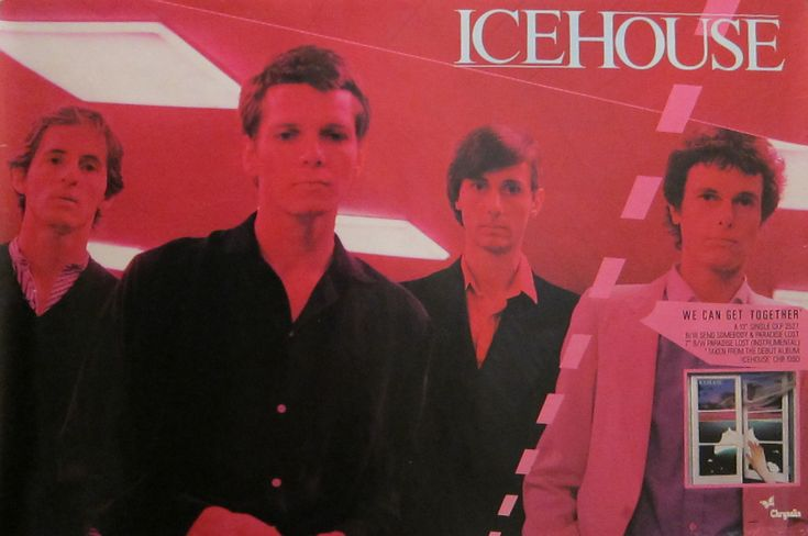 Icehouse promo poster (30 x 20)