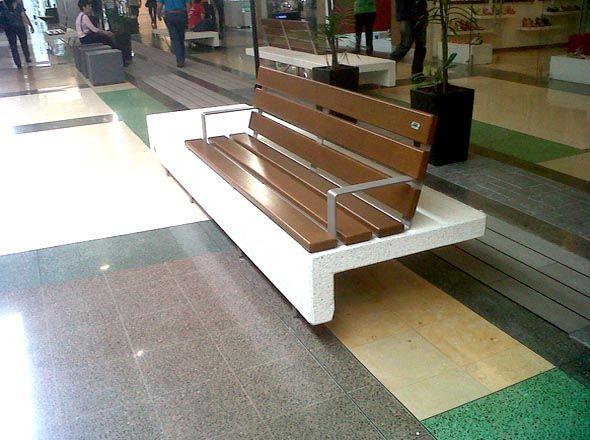 Banco Ela Plus UM371LP - Bancos - Mobiliario Urbano | BENITO URBAN