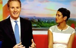 Watch BBC Breakfast presenter accidentally drop c-word live on air