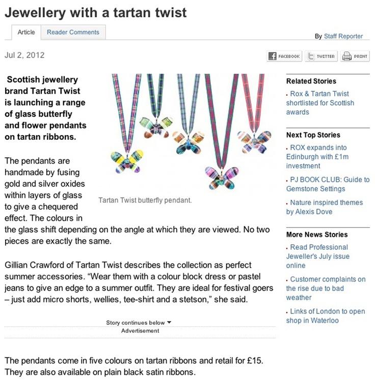 Professional Jeweller: Butterflies and Flowers Summer 2012!