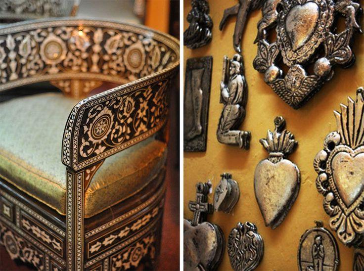 Изделия из железа и дерева