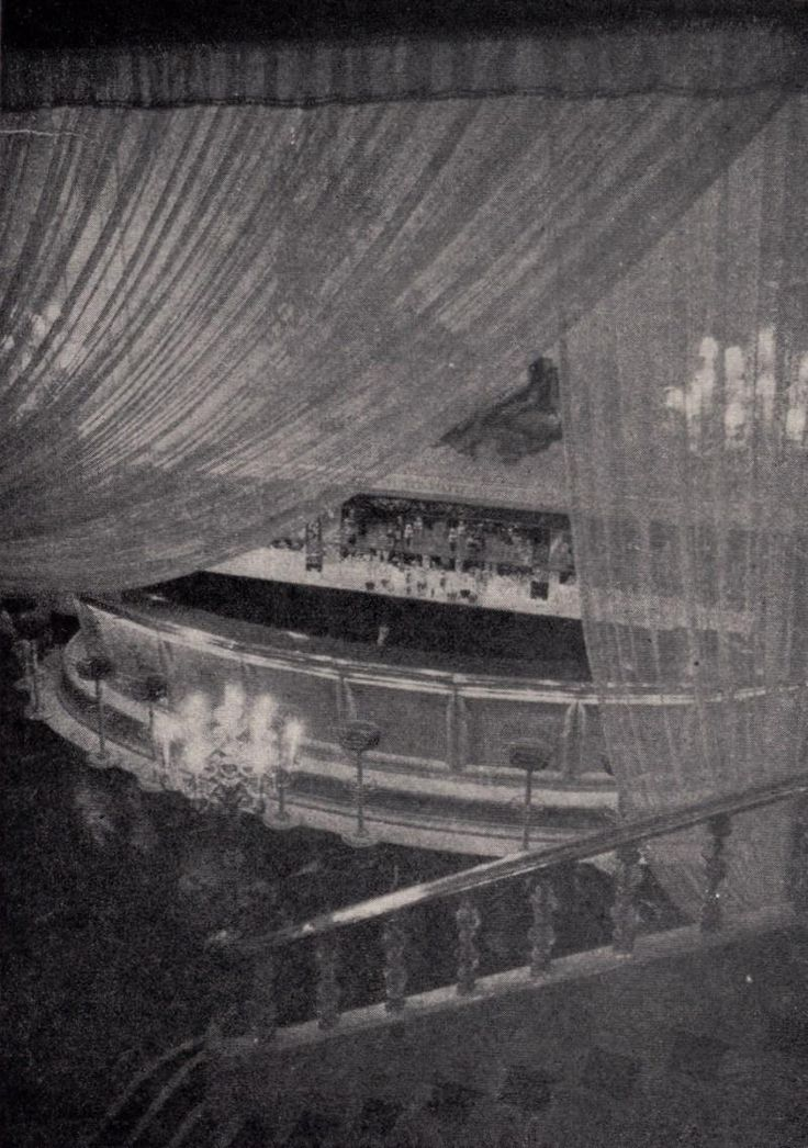 Sala Pasapoga, Madrid.1953. Sala de fiestas situada en los bajos del cine…