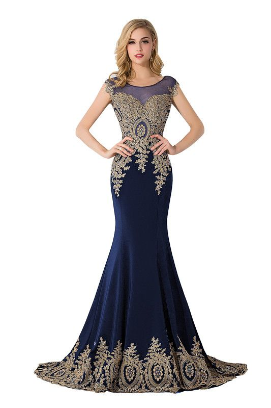 29463a963f Sleeveless Mermaid Appliques Long Lace Gorgeous Evening Dress Item Code   CPS235A  Ad  Long
