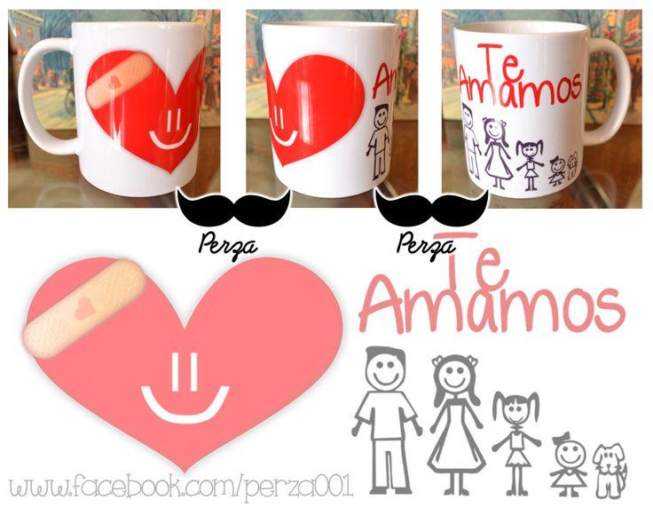 Mug personalizado, el diseño puede ser cualquiera www.facebook.com/perza001