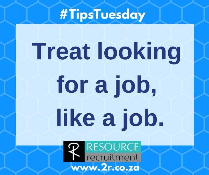 If you are serious about finding that dream job in 2018, you need to approach the job seeking process in a professional, systematic way.  For more interview tips and advice, visit RESOURCE recruitments website at www.2r.co.za.  #resourcerecruitment #jobseekingtips #tipstuesday For more information on this tip, have a look at this newsletter http://2r.co.za/treat-looking-new-job-setting-new-goal/