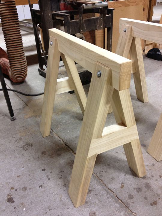 Sawhorse Wood Shop Projects Diy Woodworking