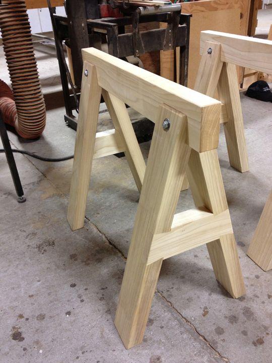 1000 ideas about sawhorse plans on pinterest folding. Black Bedroom Furniture Sets. Home Design Ideas