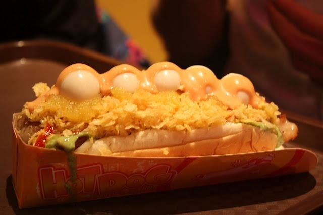 Colombian Hot Dog at Los Perros Con Sabor Colombiano in Toronto via Insider's Toronto