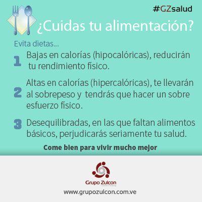 !Come bien para vivir mejor! #GZsalud