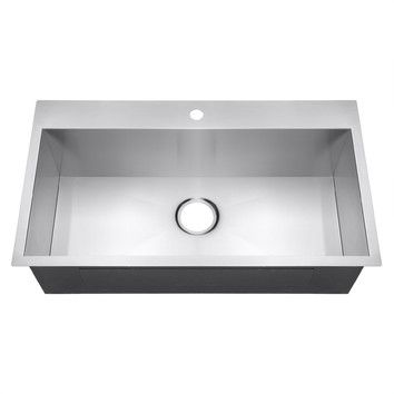 "You'll love the 18"" x 32"" Single Bowl Kitchen Sink at Wayfair - Great Deals on all  products with Free Shipping on most stuff, even the big stuff."