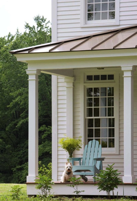 1000 images about minimal traditional homes on pinterest for Front porch roof kits