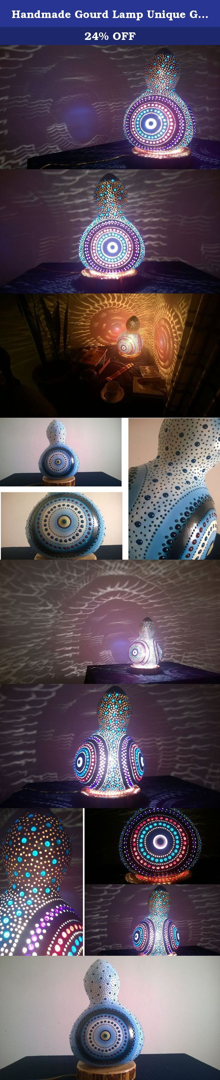 Handmade Gourd Lamp Unique Gifts for Wife Boho Lights Boho Lantern Boho Lamp Boho Room Decor Housewarming Gift Ideas. Welcome. My objective is to send you a unique, truely handmade, authentic product from the Mediterranean with a reasonable cost. So please read the next three pharagraphs carefully before making a decision. I work with selected farmers who water calabash excessively (the main material) and feed them with goat based fertilisers so that they grow up strong and thick. But…