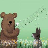136e medvěd a zajíc