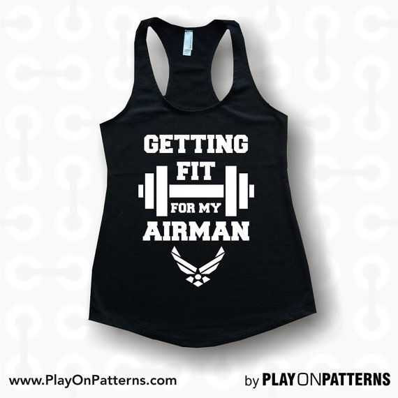 Getting Fit for my airman custom tank tops. hoodies by POPAPPAREL, $17.99