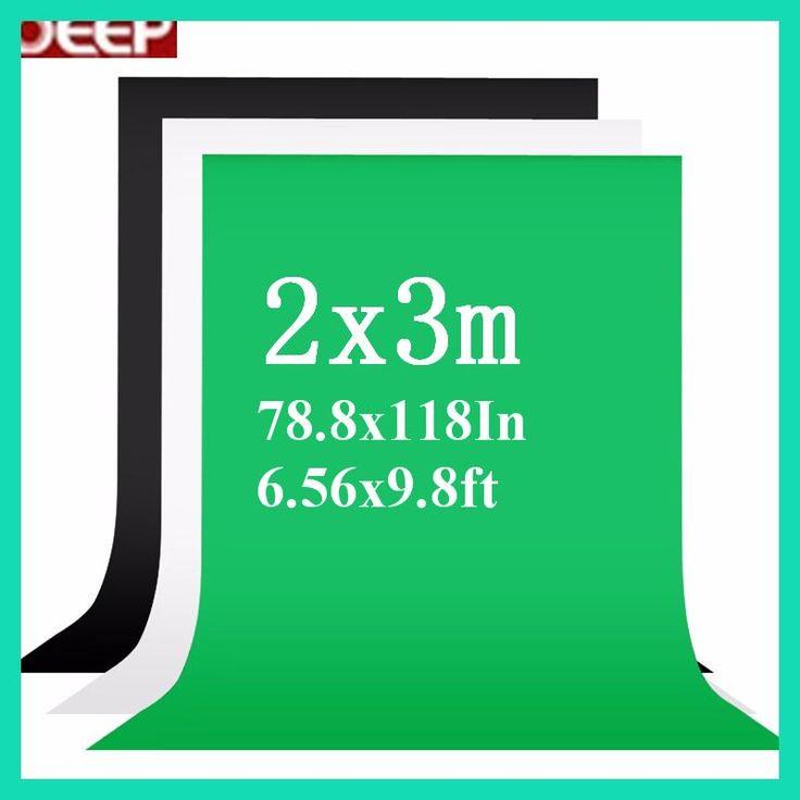 2x3meter Photo Background Fotografia Green Screen Photography Chroma Key White Backdrop Black Backgrounds for Photo Studio
