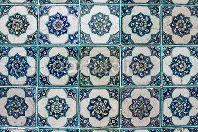 fototapeta na ścianę Płytka Ottoman ściany od Pałacu Topkapi - Wally24