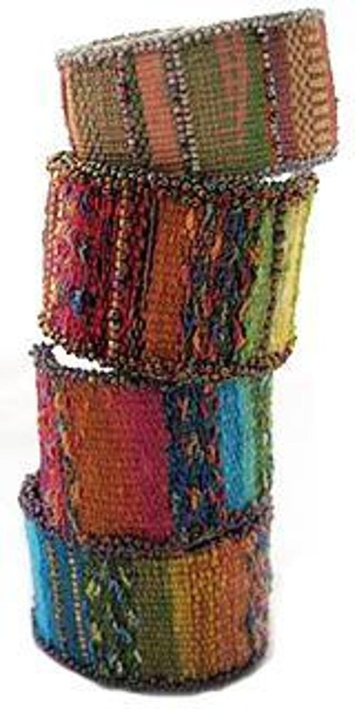 Tapestry/Bead Cuff Bracelet    Craftsy