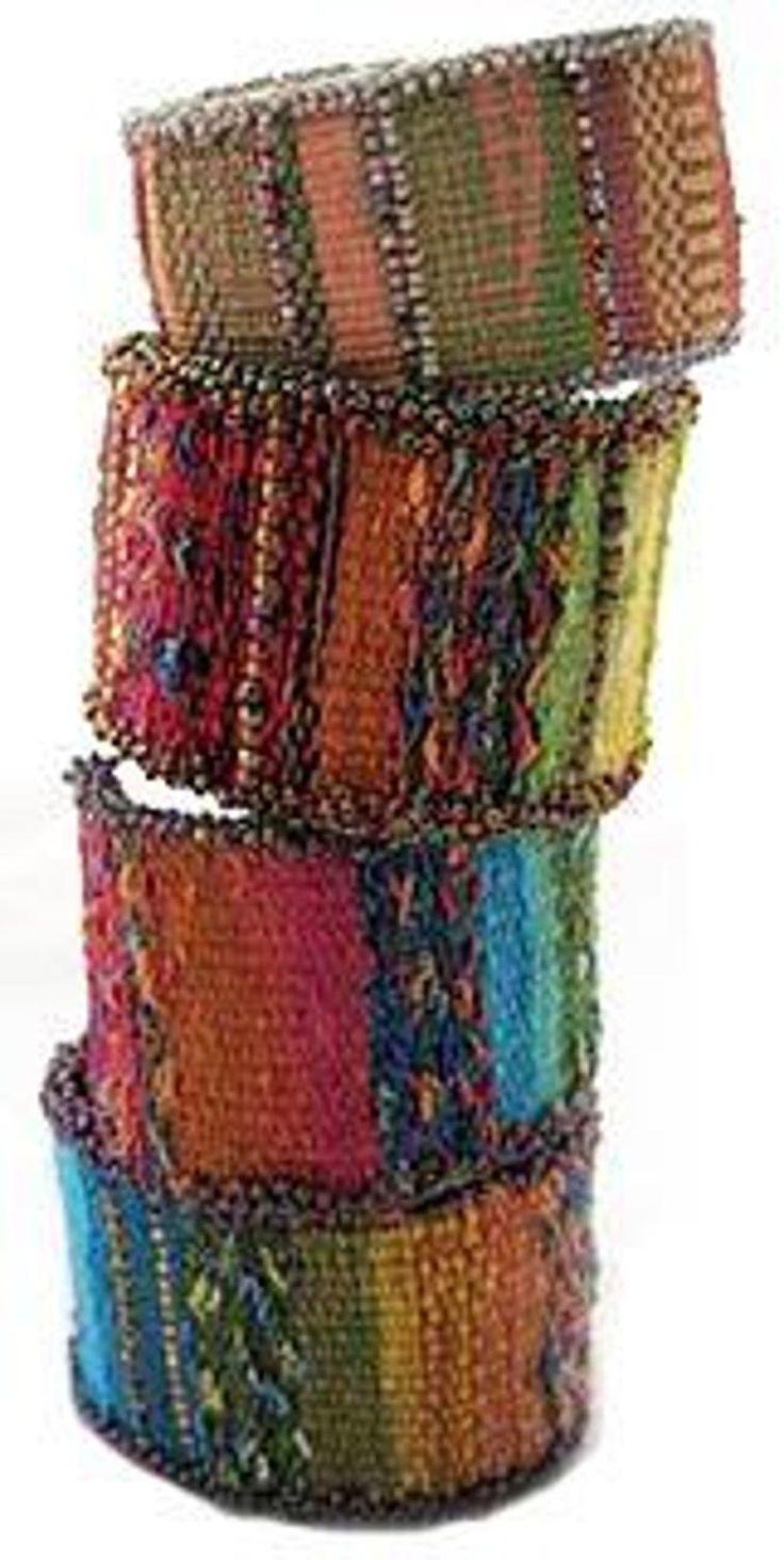 Tapestry/Bead Cuff Bracelet  | Craftsy