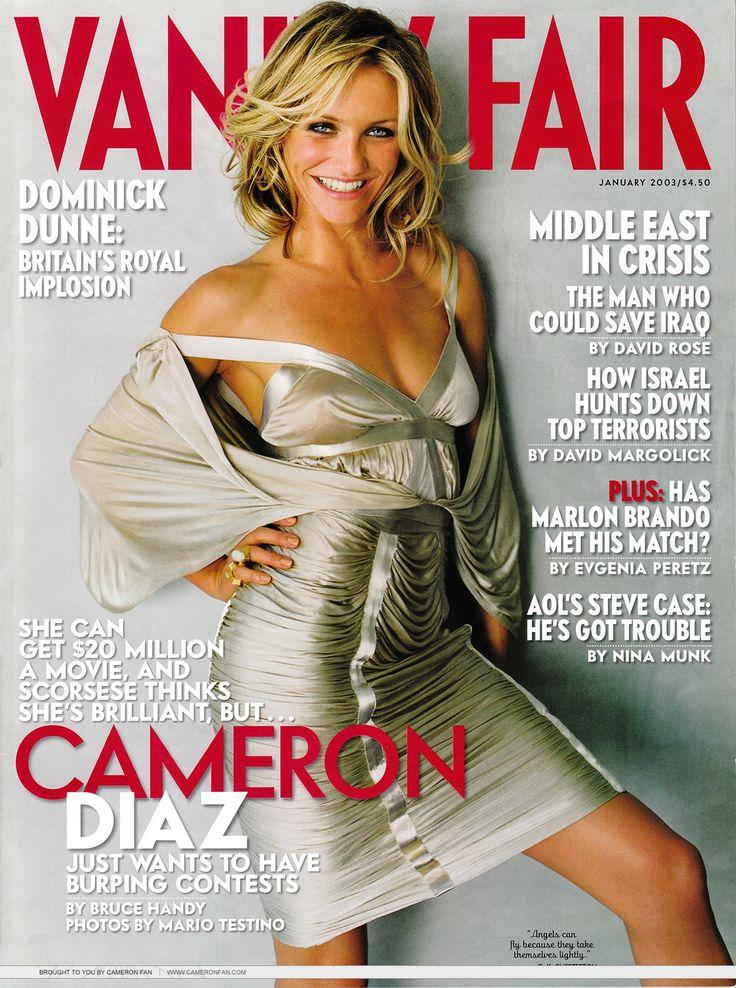 Cameron Diaz (1200×1612) #cover #vanityfair