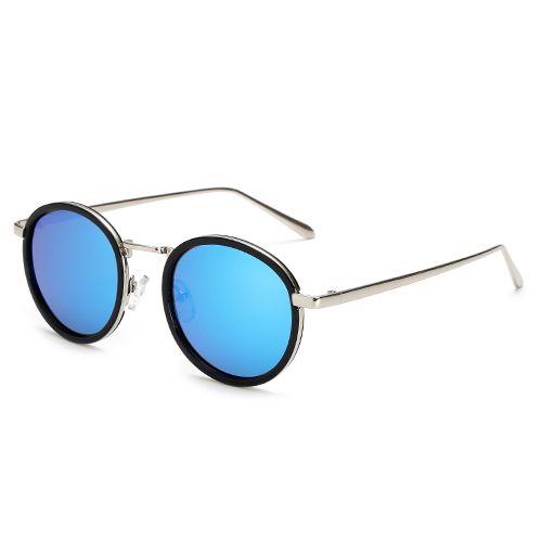 Aliexpress.com: Comprar SUNRUN Polarizado gafas de Sol de Las Mujeres Redondas Gafas de Sol de Espejo de La Vendimia gafas de sol feminino 17028 de oculos de sol feminino fiable proveedores en sunrun Official Store