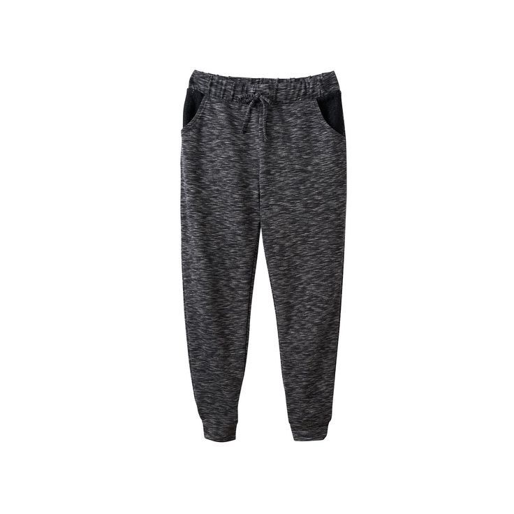 Girls 7-16 SO® Crochet Pocket Jogger Pants, Girl's, Size: 10, Oxford