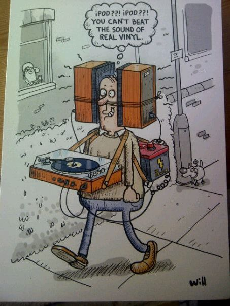 You can't beat the sound of real vinyl