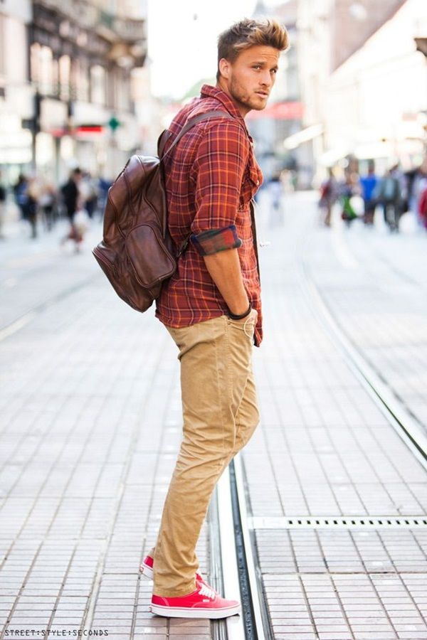Men's Casual Fashion Style: 50 Looks to Try | http://stylishwife.com/2014/03/mens-casual-fashion-style-50-looks-to-try.html