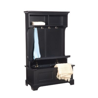Keep your mud room or entryway neat and tidy with this beautiful and unique hall tree with storage bench. Description from furniturevisit.org. I searched for this on bing.com/images