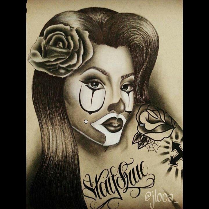 Mejores 60 im genes de clownin en pinterest arte chicano for Mural una familia chicana